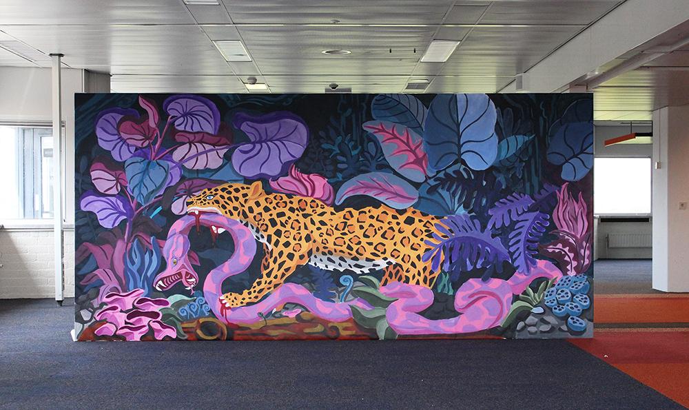 Dream of the Jaguar 400 x 200 cm
